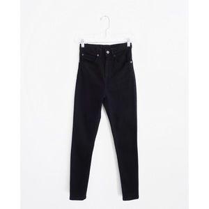 Apiece Apart Black High Waist Matchstick Jeans 0